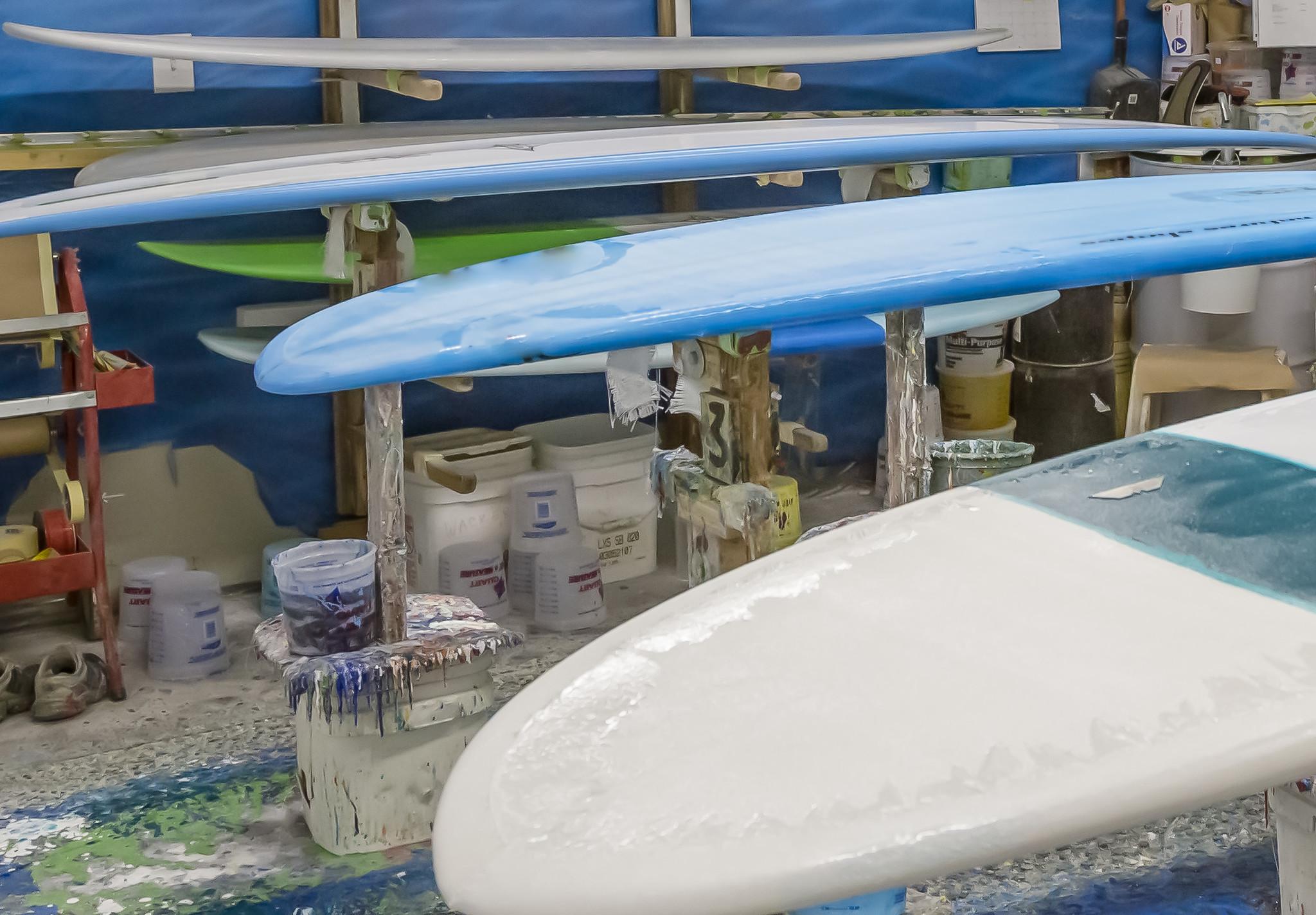 Surfboard Repairs - Unsound Surf