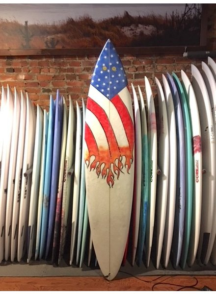 USED 7'2 BUNGER AM FLAG ( will Vultaggio )