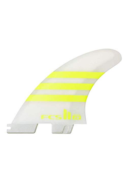 FCS FCS II JW PC MEDIUM ACID/WHT TRI FINS