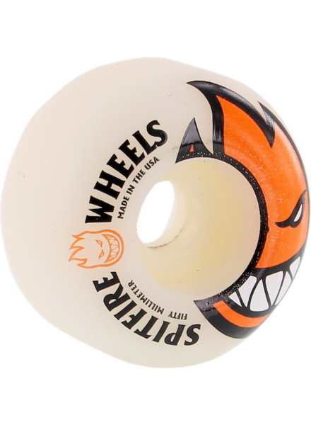SF BIGHEAD 50MM WHT/ORG WHEELS