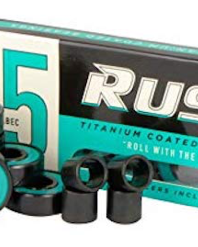 RUSH ABEC 5 BEARINGS W/ SPACERS