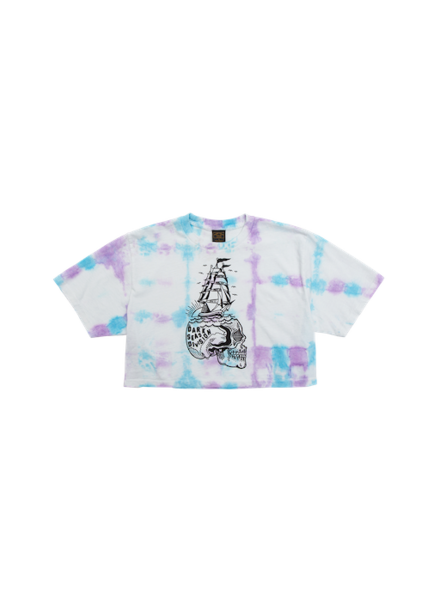 DARK SEAS DARK SEAS MIND SAILS CROP TEE