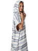 RIP CURL RIP CURL MARLEY STRIPE HOODED TOWEL