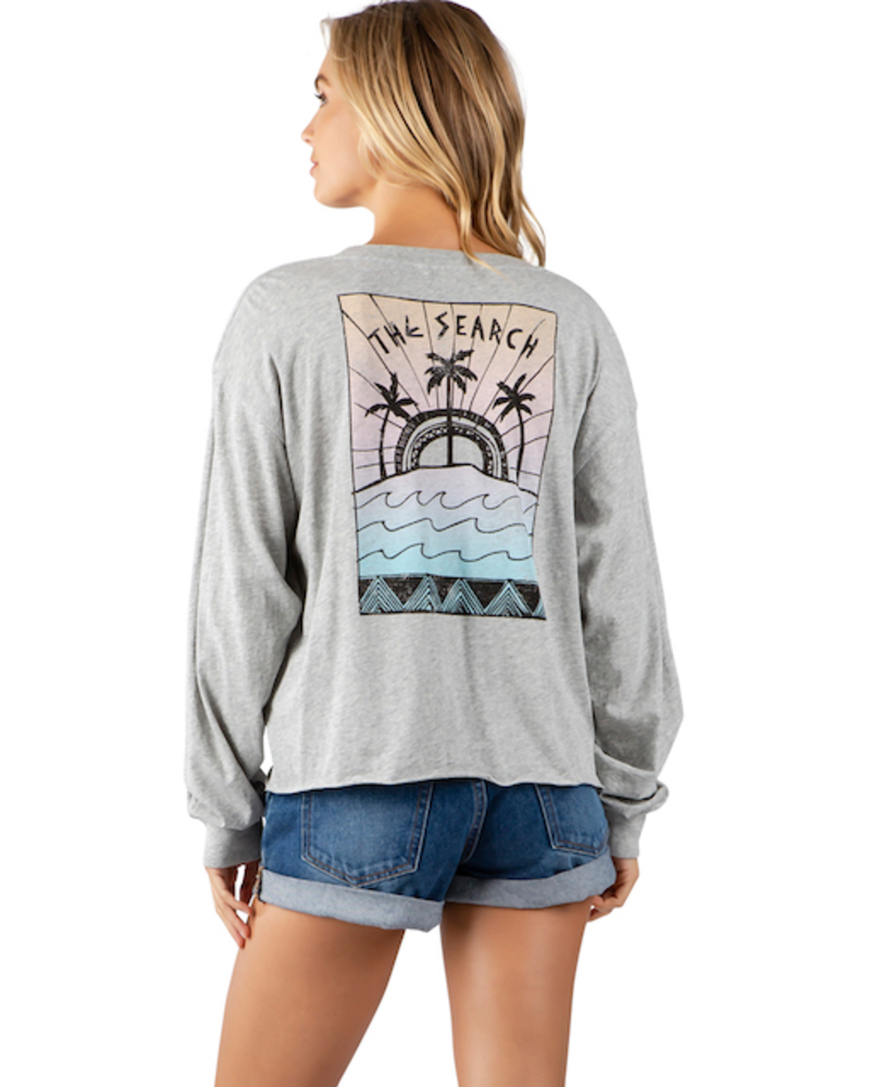 RIP CURL RIP CURL AZTEC PALMS CUT OFF LONG SLEEVE