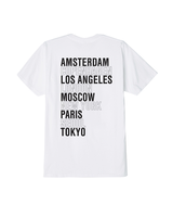 OBEY OBEY INTL. CITIES TEE