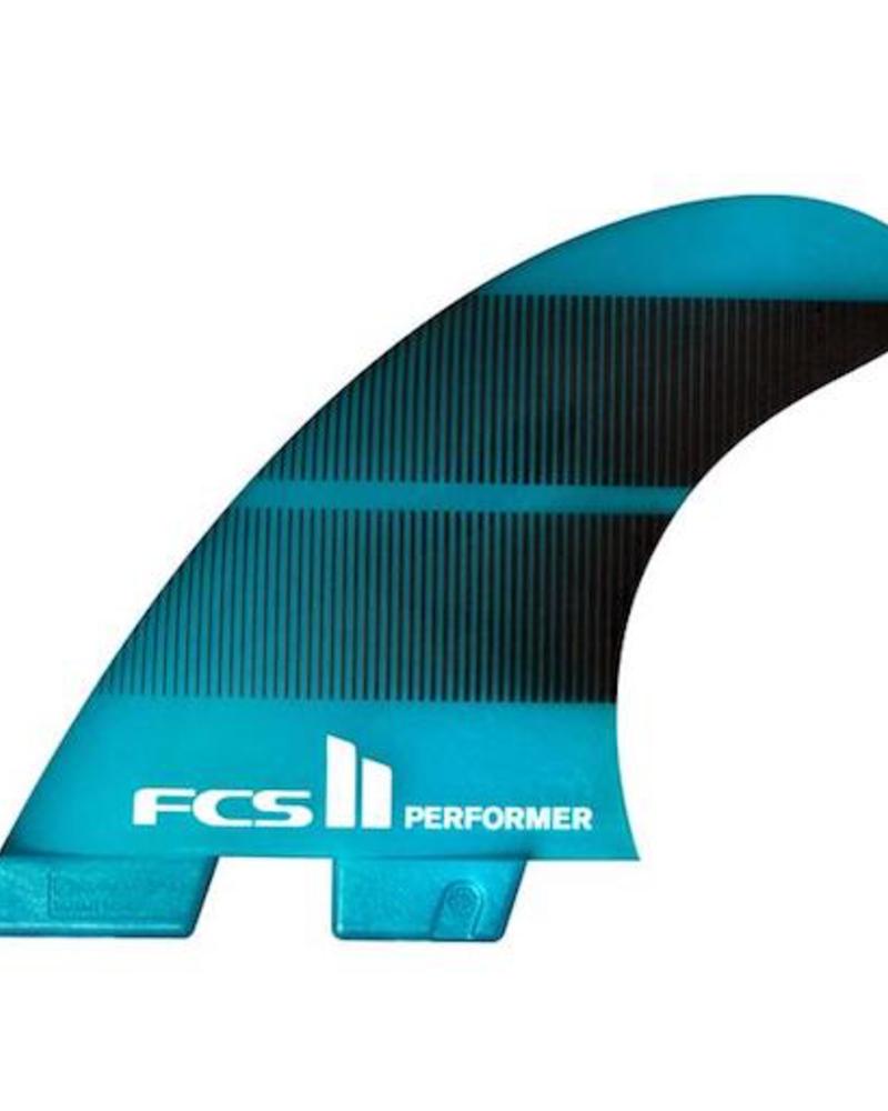 FCS FCS II PERFORMER NEO GLASS MED TEAL GRADIENT