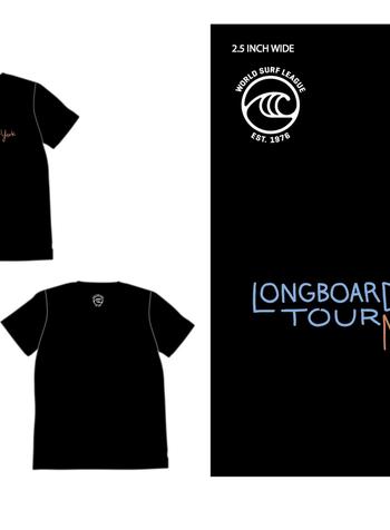 WSL WSL NEW YORK LONGBOARD TOUR MENS S/S TSHIRT