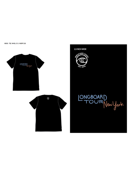 WSL WSL NEW YORK LONGBOARD TOUR MENS S/S TSHIRT