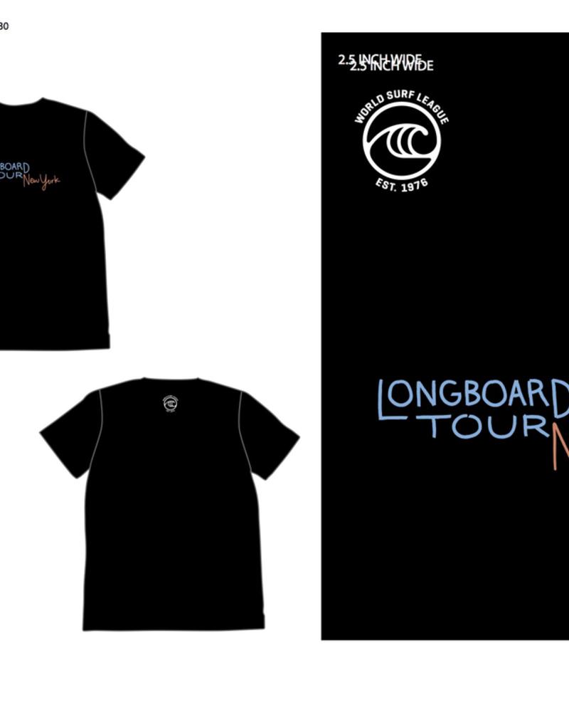 WSL WSL NEW YORK LONGBOARD TOUR WOMENS S/S TSHIRT