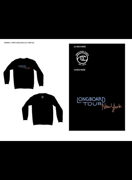 WSL WSL NEW YORK LONGBOARD TOUR L/S CREW SWEATSHIRT