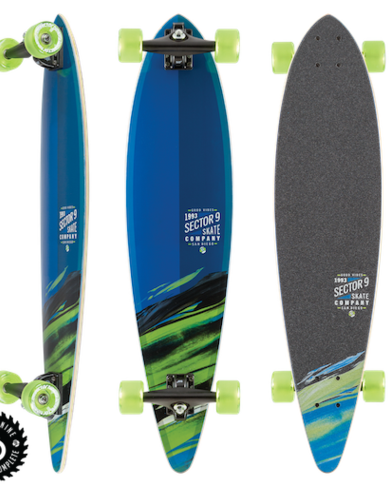 SECTOR 9 SECTOR 9 TRIPPER RIPPLE COMPLETE 36'x8.625'