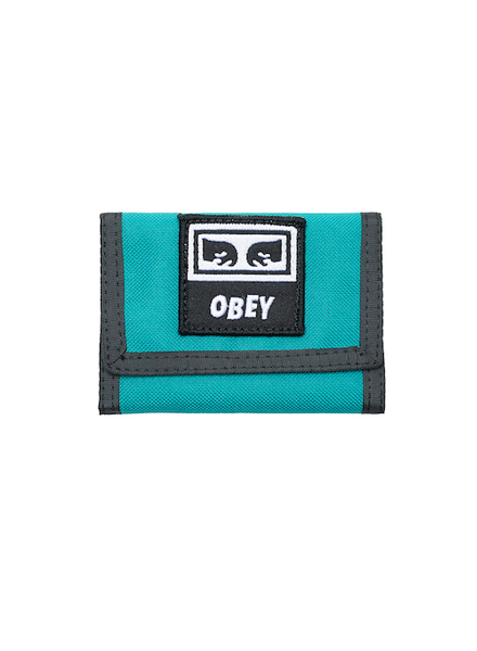 OBEY OBEY TAKEOVER TRI FOLD WALLET