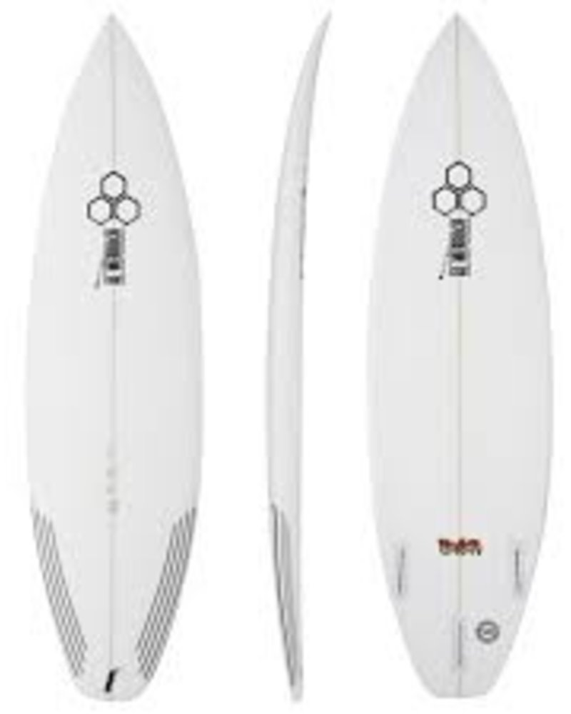 CHANNEL ISLANDS 6'2 CHANNEL ISLANDS FEVER 19 1/2 X 2 9/16 FUTURES TRI FIN