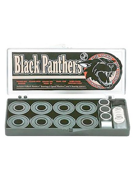 SHORTY'S BLACK PANTHERS ABEC3