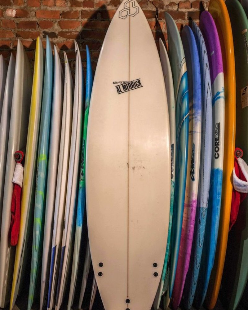 USED 6'8 CHANNEL ISLANDS AL MERRICK