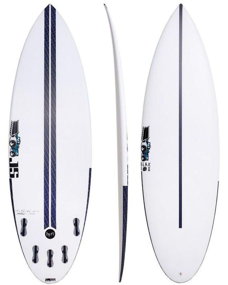 """JS SURFBOARDS Blak Box 2 Squash Tail HYFI  5' 9"""" x 19 5/8"""" x 2 3/8"""" x 28.6L - FCS II"""