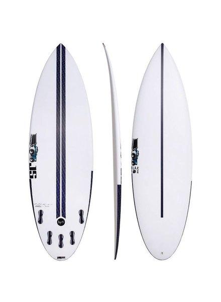 """JS SURFBOARDS Blak Box 2 Squash Tail HYFI  5' 8"""" x 19 1/2"""" x 2 5/16"""" x 27.3L - FCS II - (2"""