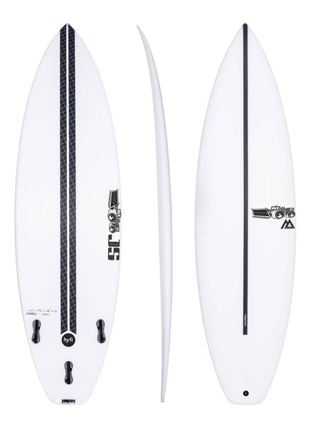 "JS SURFBOARDS Monsta Box Squash Tail HYFI  6' 0"" x 19 3/4"" x 2 1/2"" x 31.3L - FCS II"