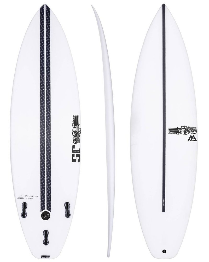 "JS SURFBOARDS Monsta 8 Squash Tail HYFI - 5' 11"" x 18 3/4"" x 2 3/8"" x 27.4L - FCS II"