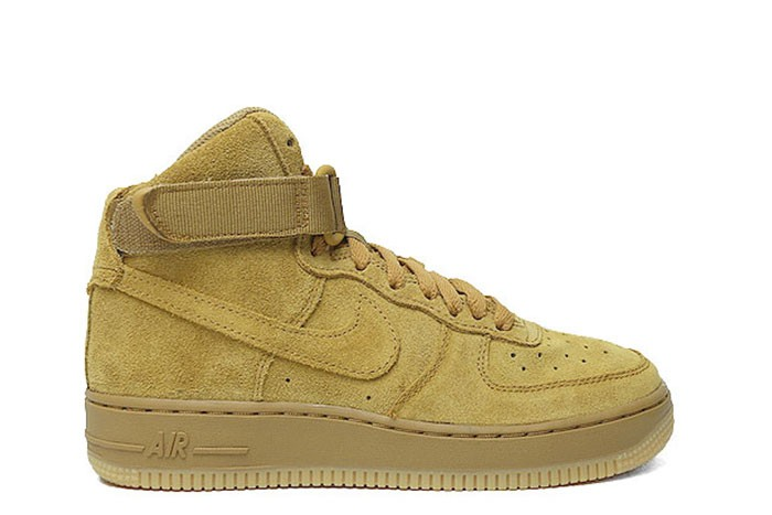 NIKE AIR FORCE 1 HIGH LV8 GS WHEAT