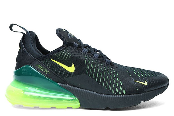 big sale 9adcc b6eb0 Nike NIKE AIR MAX 270 BLACK VOLT
