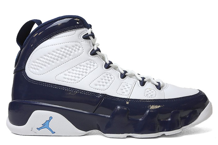 Jordan AIR JORDAN 9 RETRO WHITE UNIVERSITY BLUE