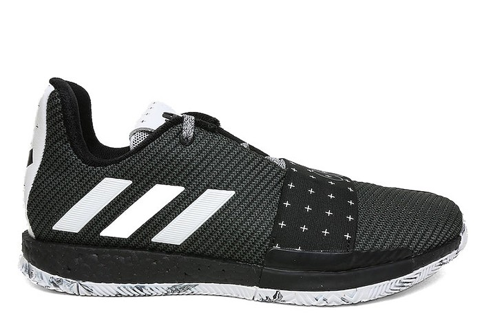 Adidas ADIDAS HARDEN VOL. 3 BLACK WHITE