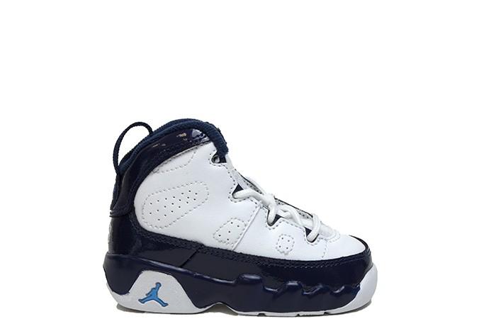 Jordan JORDAN 9 RETRO WHITE UNIVERSITY BLUE