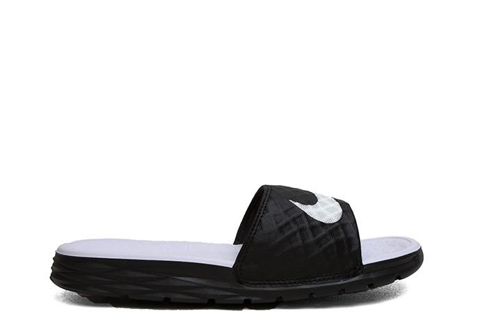 Nike WMNS BENASSI SOLARSOFT BLACK WHITE