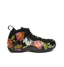 Nike W AIR FOAMPOSITE ONE FLORAL BLACK METALLIC GOLD
