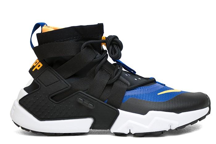 Nike NIKE AIR HUARACHE GRIPP BLACK LASER ORANGE