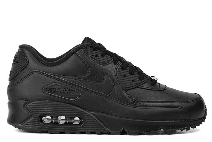Nike NIKE AIR MAX 90 LEATHER TRIPLE BLACK