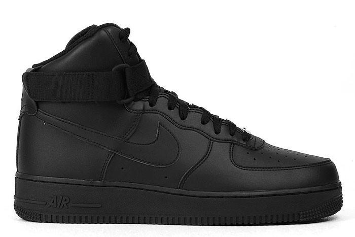 Nike NIKE AIR FORCE 1 HIGH 07 TRIPLE BLACK