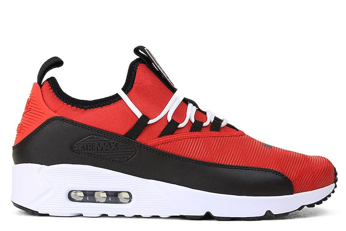 free shipping 249fb 7cadf NIKE AIR MAX 90 EZ SE UNIVERSITY RED