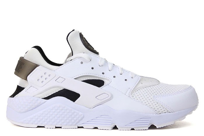 Nike NIKE AIR HUARACHE WHITE/BLACK/PURE PLATINUM