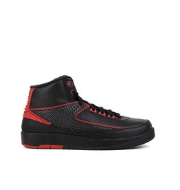 Jordan AIR JORDAN 2 RETRO BG BLACK VARSITY RED
