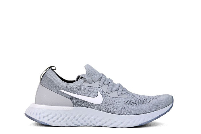 4c97ebb52cdb NIKE EPIC REACT FLYKNIT GS WOLF GREY - 1985 Gallery