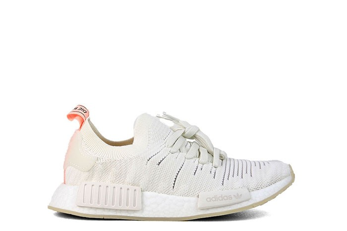 Adidas NMD R1 STLT PK W WHITE CLEAR ORANGE