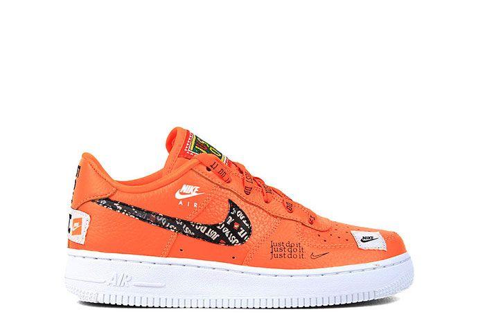 Nike NIKE AIR FORCE 1 JDI PRM GS JUST DO IT PACK ORANGE