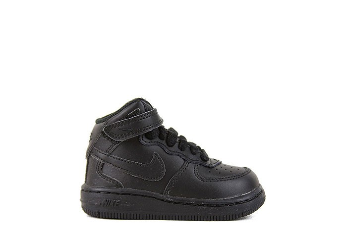Nike NIKE FORCE 1 MID TRIPLE BLACK