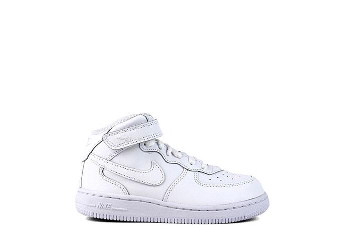 Nike NIKE FORCE 1 MID TRIPLE WHITE