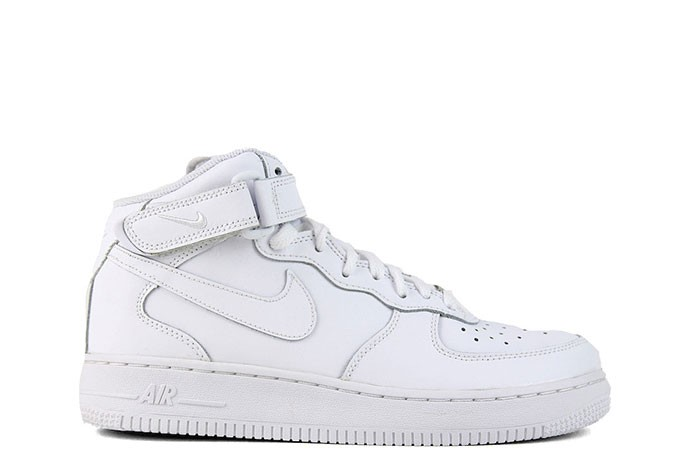 Nike NIKE AIR FORCE 1 MID GS TRIPLE WHITE