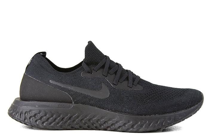 Nike NIKE EPIC REACT FLYKNIT TRIPLE BLACK