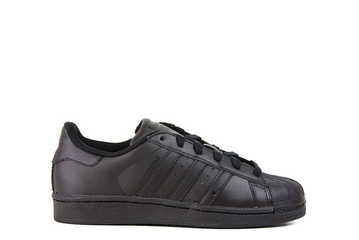 Adidas SUPERSTAR FOUNDATION J TRIPLE BLACK