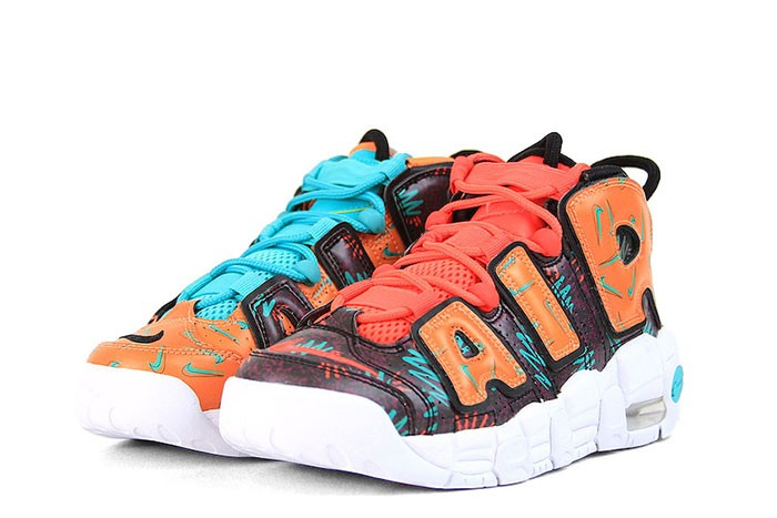 cff3c5917 NIEK AIR MORE UPTEMPO GS WHAT THE 90S PACK - 1985 Gallery