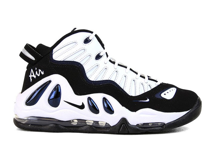 NIKE AIR MAX UPTEMPO 97 WHITE BLACK COLLEGE NAVY - 1985 Gallery 1f51b5f54