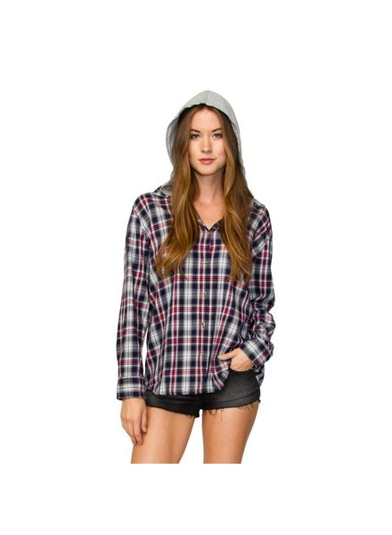 ELEMENT Element Felix Hooded Flannel