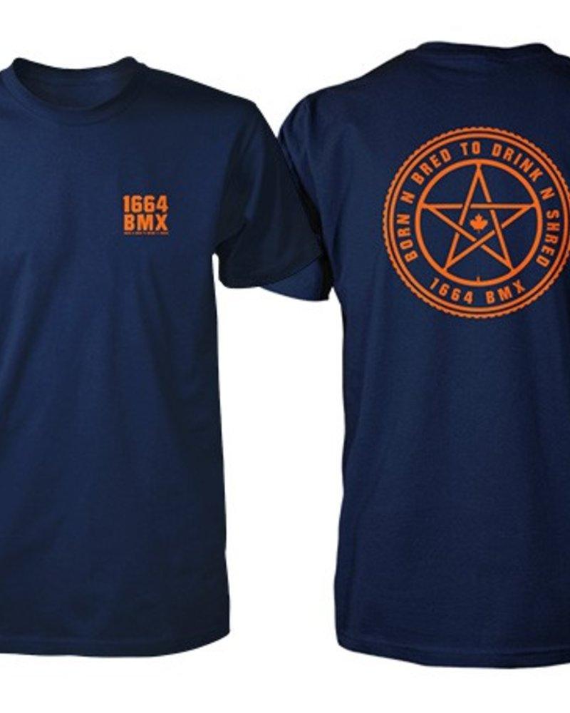 1664 1664 Born N' Bred T-Shirt