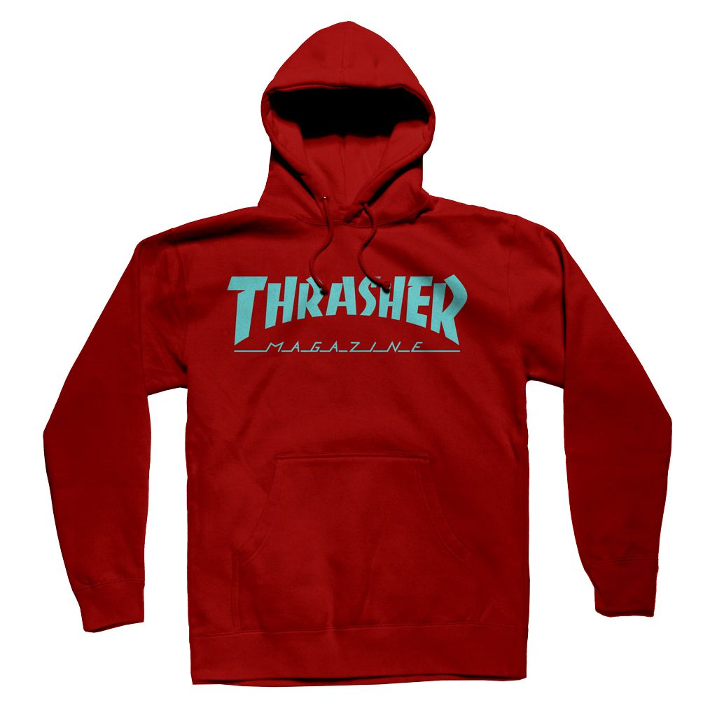 THRASHER Thrasher Skate Mag Hood - Mission Snow Skate and BMX 957045ce93c7