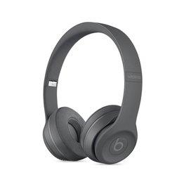 Beats Superseded - Beats Solo3 Wireless On-Ear Headphones - Neighborhood Collection - Asphalt Gray